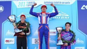 Exito rotundo del Argentino de Karting en Mendoza